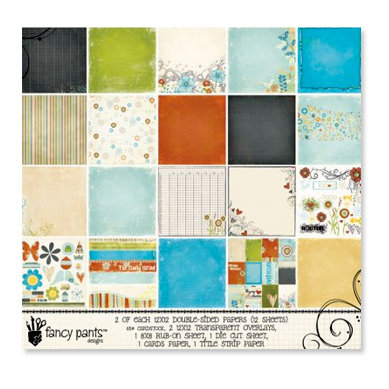 Fancy Pants Designs - The Daily Grind Collection - Paper Kit