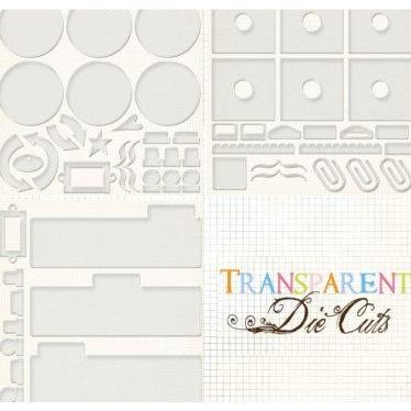 Fancy Pants Designs - Transparent Die Cuts - Creative Books