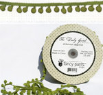Fancy Pants Designs - The Daily Grind Collection - Ball Trim Ribbon - 25 Yards
