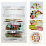 Fancy Pants Designs - Happy Holidays Collection - Embellishment Kit, CLEARANCE