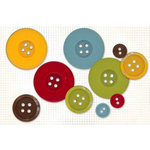 Fancy Pants Designs - All Fall Collection - Buttons