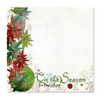 Fancy Pants Designs - Happy Holidays Collection - 12 x 12 Transparency - The Season