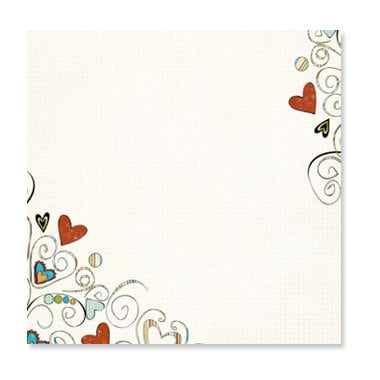 Fancy Pants Designs - The Daily Grind Collection - 12 x 12 Transparency - Love Daily