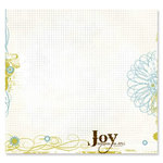 Fancy Pants Designs - All Fall Collection - 12 x 12 Transparency - Joy