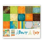 Fancy Pants Designs - About A Boy Collection - 12 x 12 Paper Kit