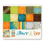 Fancy Pants Designs - About A Boy Collection - 12 x 12 Paper Kit