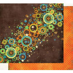 Fancy Pants Designs - About A Boy Collection - 12x12 Double Sided Paper - Rockin'