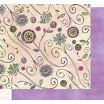 Fancy Pants Designs - Daydreams Collection - 12x12 Double Sided Paper - Gaze