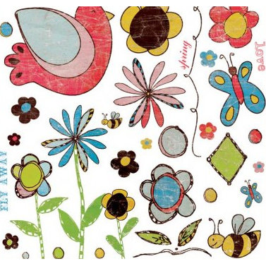 Fancy Pants Designs - Sweet Spring Collection - Rub Ons - Sweet Spring