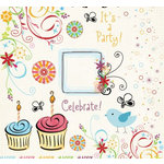 Fancy Pants Designs - Celebrate Collection - Rub Ons - Celebrate