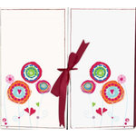 Fancy Pants Designs - 12x12 Fancy Gated Album - Pink and White