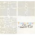 Fancy Pants Designs - 12x12 Transparent Clear Cuts - Bracket Book Set, CLEARANCE
