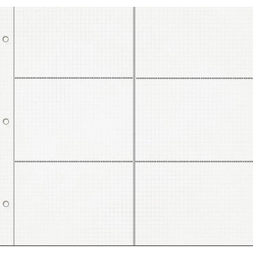 Fancy Pants Designs - 12x12 Page Protector Refills with 4x6 Photo Pockets - 10 Sheets