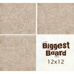Fancy Pants Designs - Biggest Board Chipboard - 12x12 - Fancy Flourishes Too, CLEARANCE