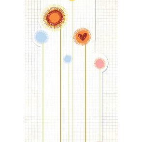 Fancy Pants Designs - Glitter Cuts Transparencies - Tall Floral, CLEARANCE