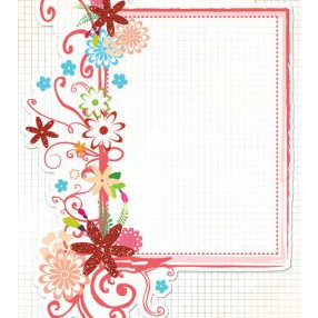 Fancy Pants Designs - Glitter Cuts Transparencies - Pink Frame