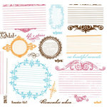 Fancy Pants Designs - Rub Ons - Write Now