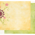 Fancy Pants Designs - Crush Collection - Valentine's Day - 2x12 Double Sided Paper - Devoted, CLEARANCE
