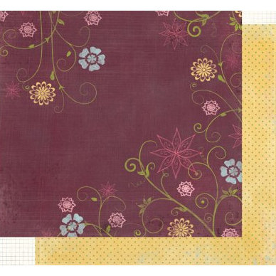 Fancy Pants Designs - Crush Collection - Valentine's Day - 12x12 Double Sided Paper - Whimsical