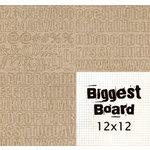 Fancy Pants Designs - Biggest Board Chipboard - 12x12 - Say It Simple