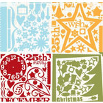 Fancy Pants Designs - Felt Shapes - Christmas - Tis The Season, CLEARANCE