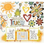 Fancy Pants Designs - True Collection - Rub Ons