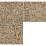 Fancy Pants Designs - Biggest Board Chipboard - 12x12 - Swirls and Twirls, CLEARANCE