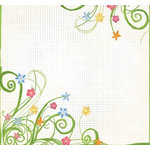 Fancy Pants Designs - 12x12 Printed Transparent Overlays - Painted Summer