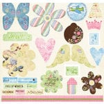 Fancy Pants Designs - Sweet Pea Collection - Titles and Tags