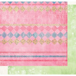 Fancy Pants Designs - Sweet Pea Collection - 12x12 Double Sided Paper - Sophie, CLEARANCE