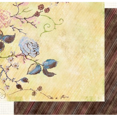 Fancy Pants Designs - Sweet Pea Collection - 12x12 Double Sided Paper - Abigal