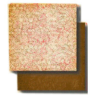 Fancy Pants Designs - 12x12 Double Sided Paper - Aged Florals Collection - Beloved, CLEARANCE