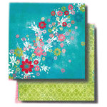Fancy Pants Designs - 12x12 Double Sided Paper - Kewl Collection - Exquisite, CLEARANCE