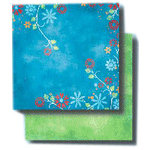 Fancy Pants Designs - 12x12 Double Sided Paper - Floral Chic - My Sweetie, CLEARANCE