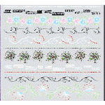 Fancy Pants Designs - Rub-Ons - Fancy Motif Borders, CLEARANCE