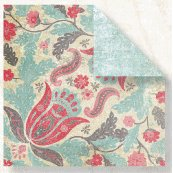 Fancy Pants Designs - Mulberry Road Collection - Doublesided Paper - Romance, CLEARANCE