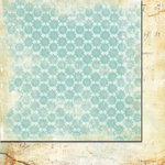 Fancy Pants Designs - Lilac House Collection - 12 x 12 Double Sided Paper - Needlepoint, CLEARANCE