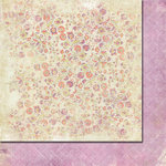 Fancy Pants Designs - Lilac House Collection - 12 x 12 Double Sided Paper - Lavender Leaves