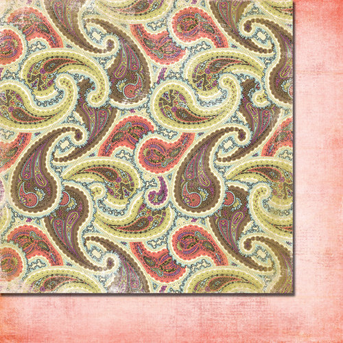 Fancy Pants Designs - Lilac House Collection - 12 x 12 Double Sided Paper - Tapestry, CLEARANCE