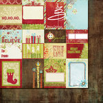 Fancy Pants Designs - Tradition Collection - Christmas - 12 x 12 Double Sided Paper - Cards