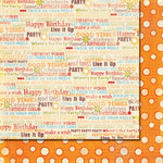 Fancy Pants Designs - It's Your Day Collection - 12 x 12 Double Sided Paper - Live It Up