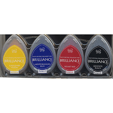 Brilliance Dew Drop Basic Colors Ink Set
