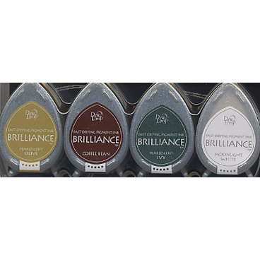 Brilliance Dew Drop Earth Tones Pigment Ink Set