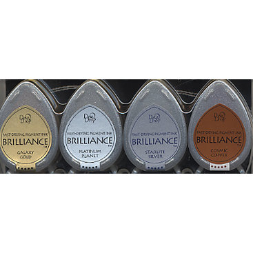 Brilliance Dew Drop Planetarium Metallics Ink Set
