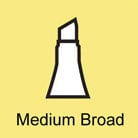 Copic - Sketch and Ciao Marker - Nib - Medium Broad