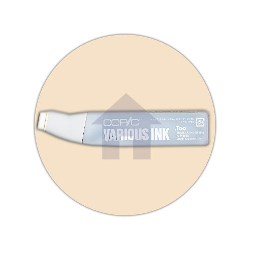 Copic - Various Ink - Ink Refill Bottle - E00 - Skin White