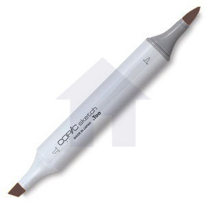 Copic - Sketch Marker - E29 - Burnt Umber