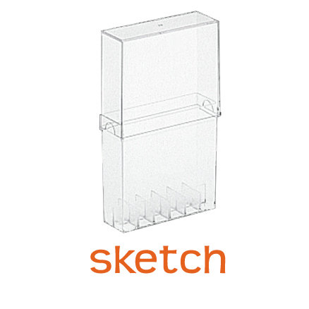 Copic - Sketch Marker - Empty Case - Holds 12 Markers