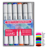 Copic - Sketch Marker Set - Primary - 12 Piece Set