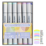 Copic - Sketch Marker Set - Pastel - 12 Piece Set
